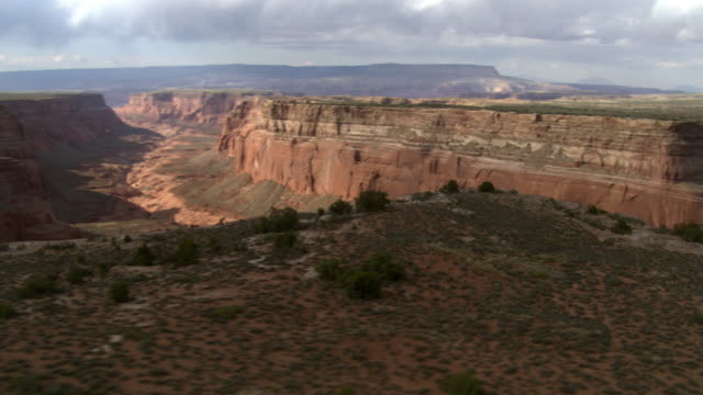 cummings mesa below and wetherill canyon - artbeats stock videos & royalty-free footage