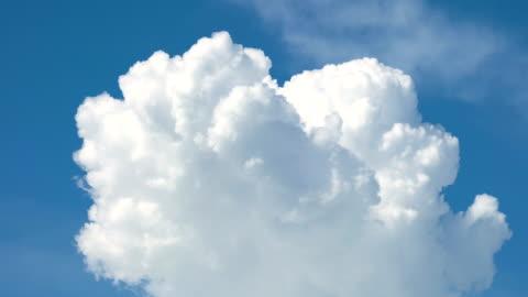 cumulonimbus cloud moving timelapse. - cumulus cloud stock videos & royalty-free footage
