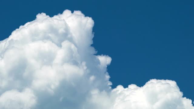 cumulonimbus cloud moving timelapse. - cumulonimbus stock videos & royalty-free footage