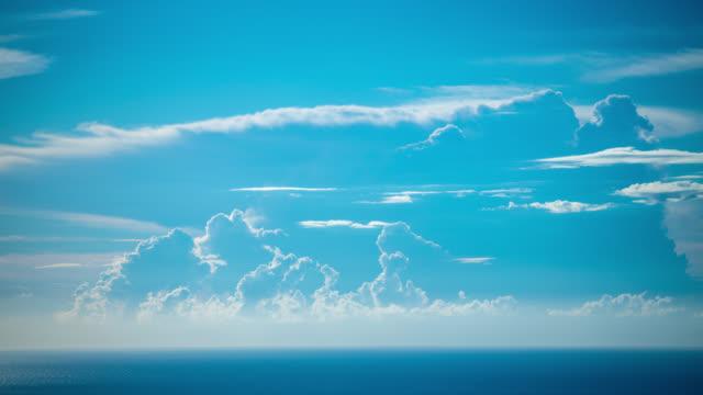 time lapse: cumulonimbus cloud - cumulonimbus stock videos & royalty-free footage