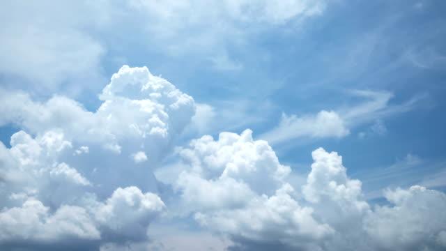 vídeos y material grabado en eventos de stock de lapso de tiempo las nubes cumulus - cambio de oficina