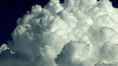 cumulus cloudscape - cumulus cloud stock videos & royalty-free footage