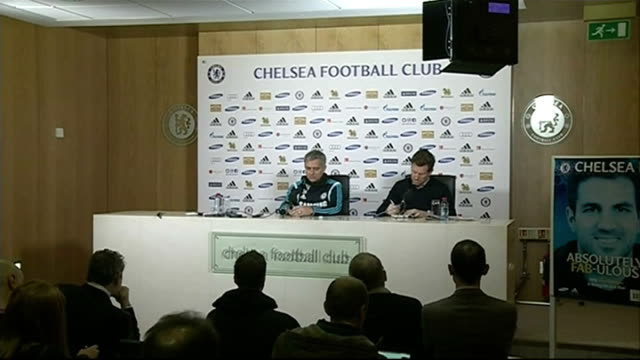 vidéos et rushes de preview england surrey cobham int jose mourinho press conference sot if we lose the game we are out and that's the respect bradford deserves from us/... - respect