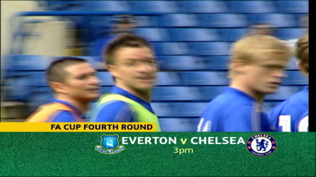 cup matches preview; date unknown ext seq chelsea players training - kenny sansom stock videos & royalty-free footage