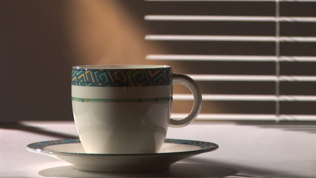 hd: cup of coffee - tea cup stock videos and b-roll footage