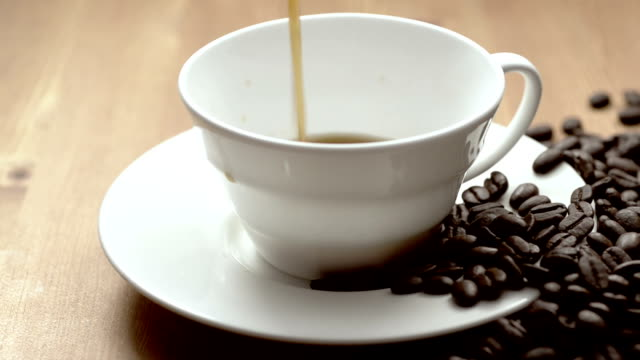 cup of coffee - caffeine molecule stock videos & royalty-free footage