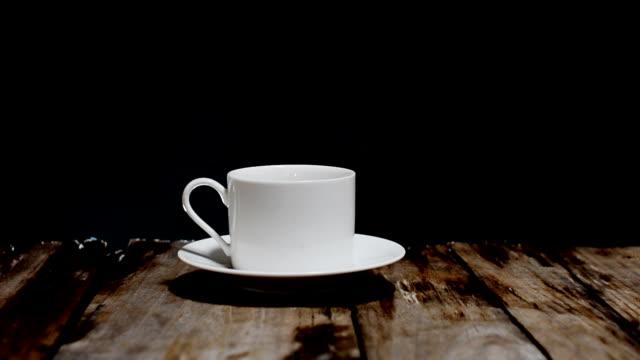 cup of coffee - caffeine molecule stock videos & royalty-free footage