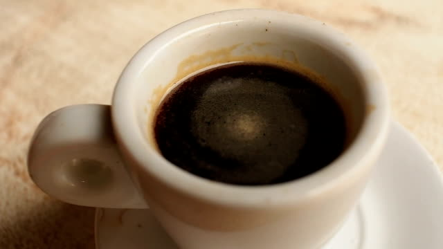 cup of cuban coffee - cuban stock videos and b-roll footage