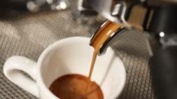 cup of espresso shot with crema