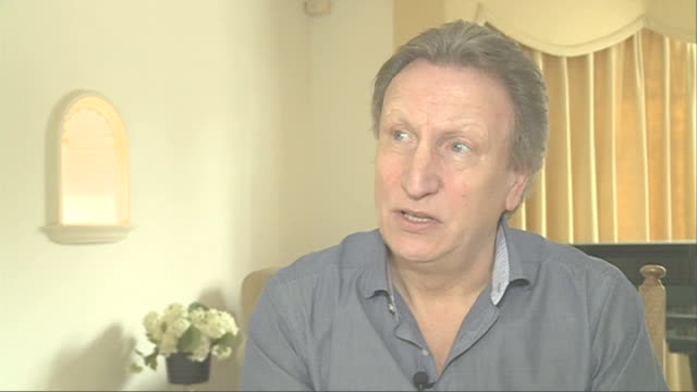 QPR v Chelsea Buildup dominated by Ferdinand and Terry Situation T19011234 London INT Neil Warnock interview SOT Atmosphere will be feisty / going to...