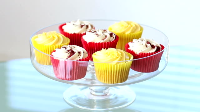 cupcakes, temptation. - number 6 stock videos & royalty-free footage