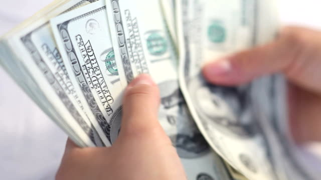 us currency, selective focus - money stock videos & royalty-free footage