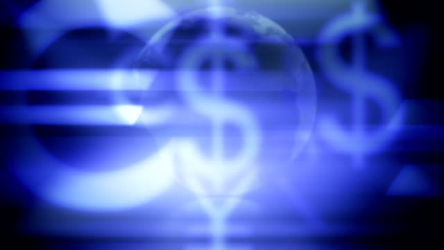 vidéos et rushes de fond de symbole monétaire - symbole du yen