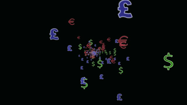 currency symbols - currency symbol stock videos & royalty-free footage