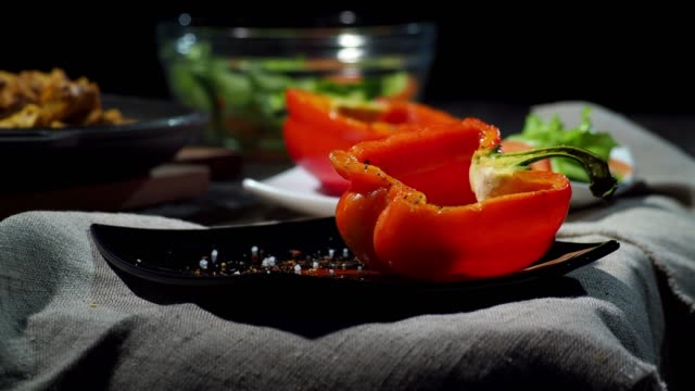 Curry in bell pepper