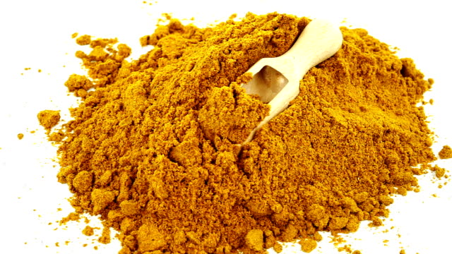 curry powder - curry powder stock videos and b-roll footage