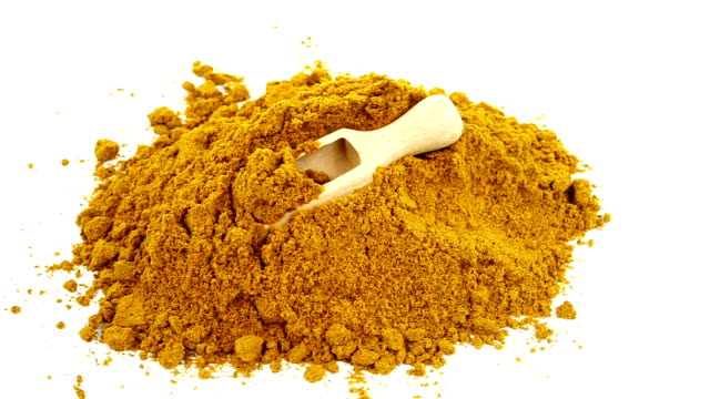 curry powder - curry powder stock videos & royalty-free footage