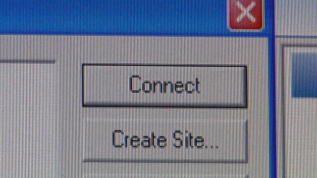 cu cursor clicking on 'connect' button on computer screen/ brooklyn, ny - computer mouse stock videos & royalty-free footage