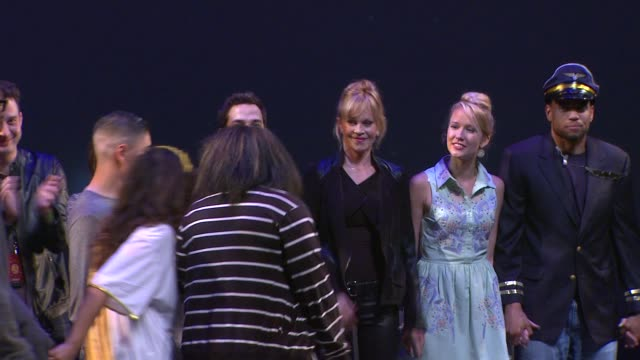 curtain call with melanie griffith molly sims rosie perez at montblanc presents the 3rd annual 24 hour plays in los angeles on 6/22/13 in los angeles... - melanie griffith stock videos and b-roll footage