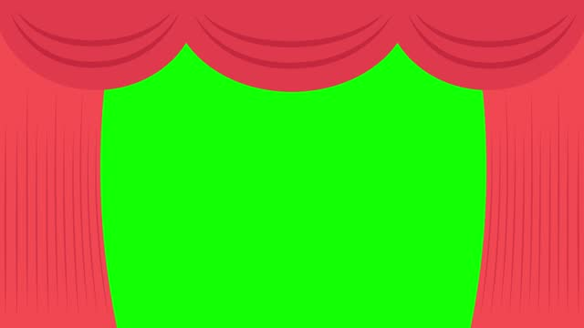 curtain scene full opens, closes. claret red theater, cinema stage open, complete close. cartoon, loop, repeated. cycle animation. show, performance. green screen, transparent background. 4k video - red stock videos & royalty-free footage