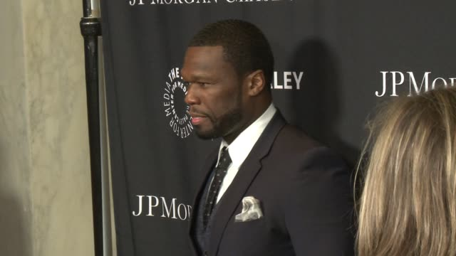 Curtis 50 Cent Jackson at The Paley Center For Media's Tribute To AfricanAmerican Achievements In Television Presented By JPMorgan Chase Co at the...