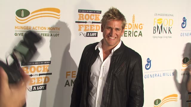 Curtis Stone at the 'Rock A Little Feed A Lot' Benefit Concert at Los Angeles CA