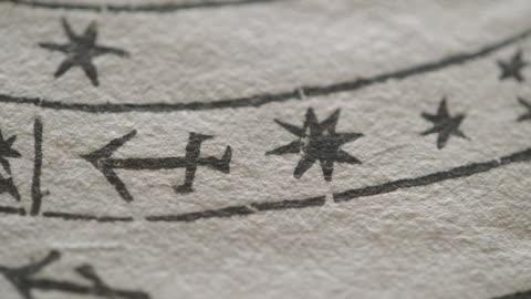 cus 16th century astronomy textbook - astronomi bildbanksvideor och videomaterial från bakom kulisserna