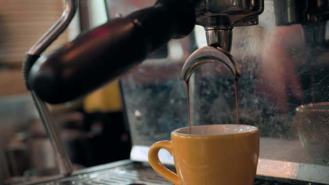 cus coffee-making and food preparation in a cafe - generic location stock videos & royalty-free footage