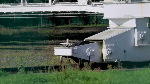 cus engineering of lovell telescope, uk - optical equipment stock videos & royalty-free footage