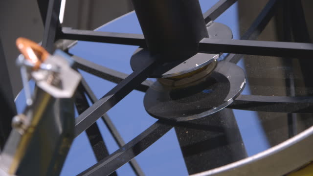 cus machine details of a telescope - rack focus stock videos & royalty-free footage