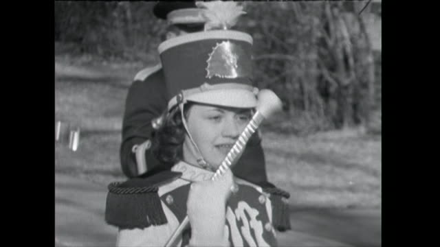 cus marching band members - 1961 stock videos & royalty-free footage