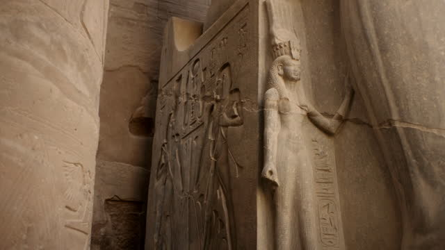 cus temple of luxor, egypt - female likeness stock videos & royalty-free footage