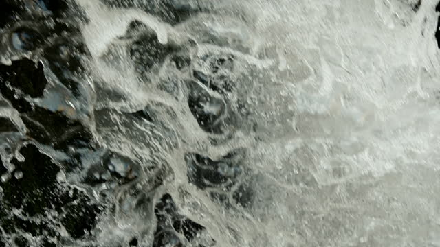 cus white water of a weir - rapid stock videos & royalty-free footage