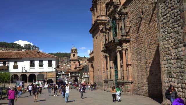 Cusco stad in Peru