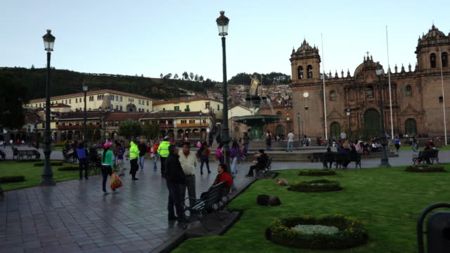 Cusco city in Peru