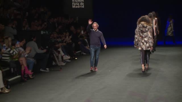 custo catwalk mercedes benz fashion week madrid autumn/winter 2019-2020 - fashion show stock videos & royalty-free footage