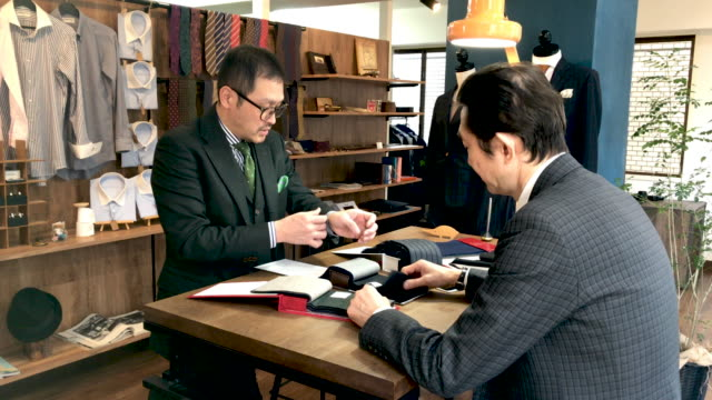 custom suit shop in tokyo - customized stock videos and b-roll footage