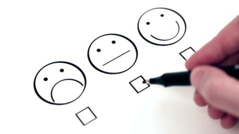 stockvideo's en b-roll-footage met customer satisfaction survey - klanten georiënteerd