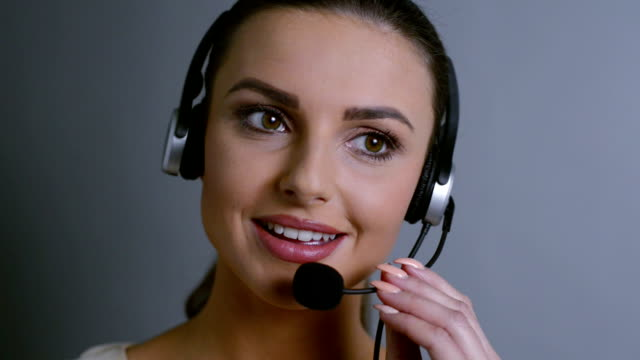 customer service - headset stock videos & royalty-free footage