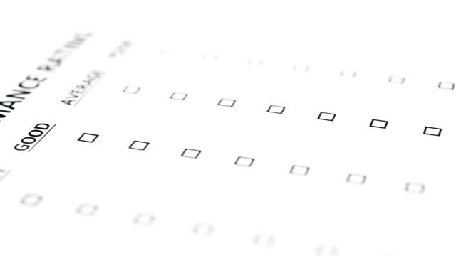 Customer Survey Voting