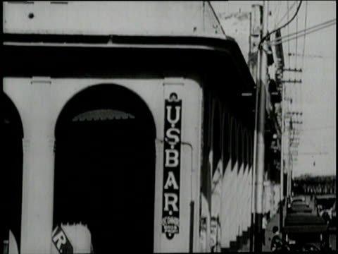customers drink at sloppy joe's bar in havana cuba - 1920 stock videos & royalty-free footage