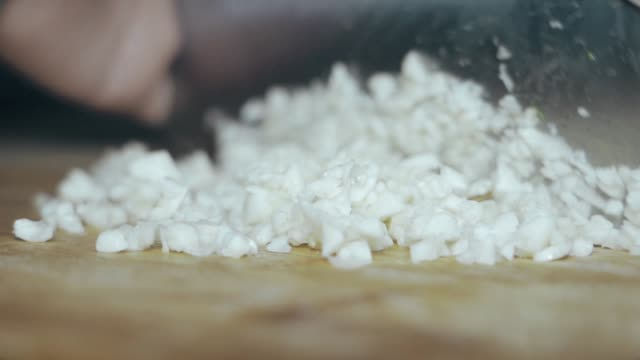 cut garlic foam - garlic stock videos & royalty-free footage