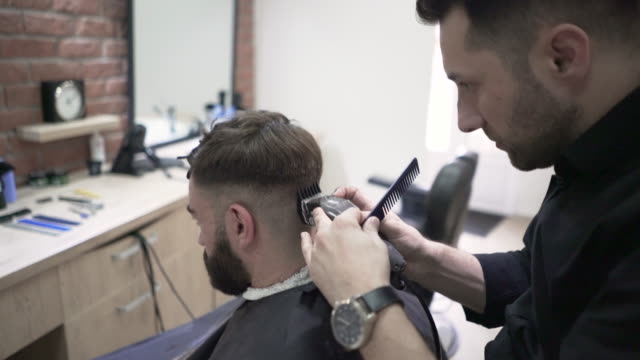 cut 'n' shave - electric razor stock videos and b-roll footage