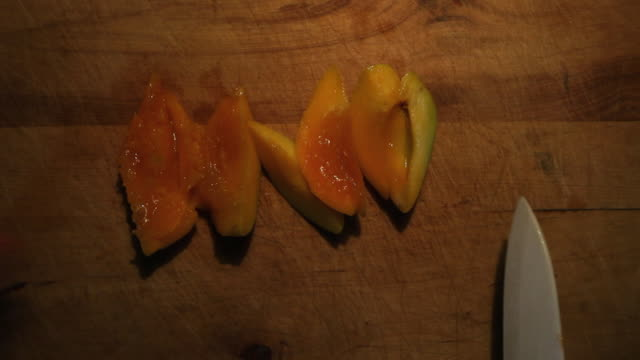 cut the apricot fruit - apricot stock videos & royalty-free footage