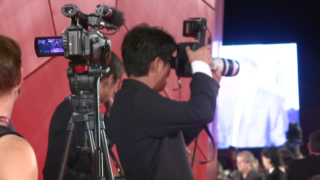 cutaway at the himizu premiere: venice film festival 2011 at venice . - cutaway video transition stock videos & royalty-free footage