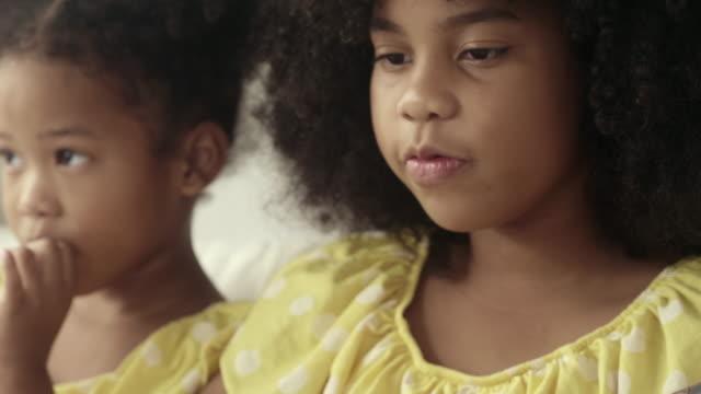 cute african girl singing - singer stock videos & royalty-free footage