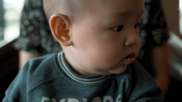 cute baby boy(2-5 months) - 2 5 months stock videos & royalty-free footage