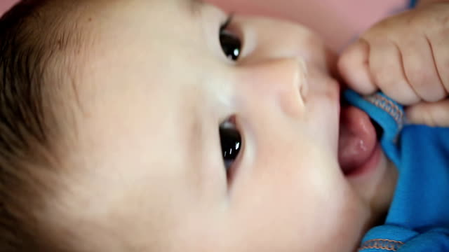 cute baby boy - contact lens stock videos and b-roll footage