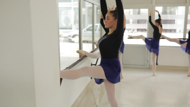 cute ballet dancers - small stock videos & royalty-free footage
