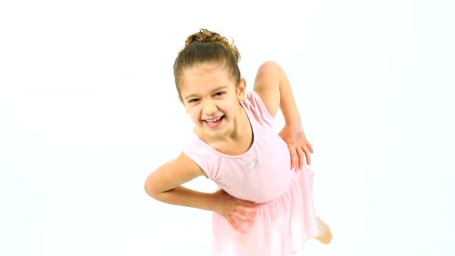 cute little ballet dancer - small stock videos & royalty-free footage